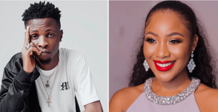See how Nigerians celebrities reacted to Erica's nasty fight with Laycon and others