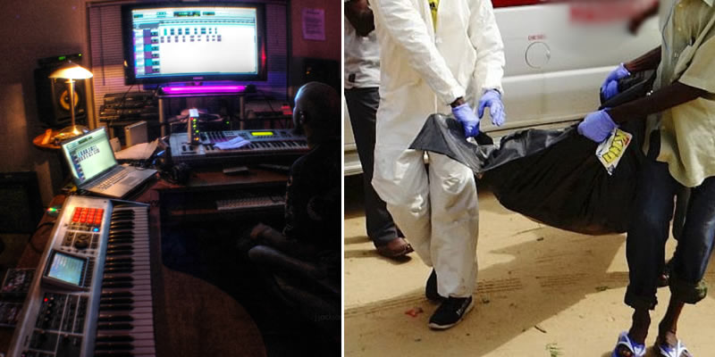Two musicians found dead, others unconscious after all-night studio session in Lagos