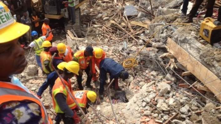 UPDATE: Baby survived Anambra building collapse, nursing mother killed
