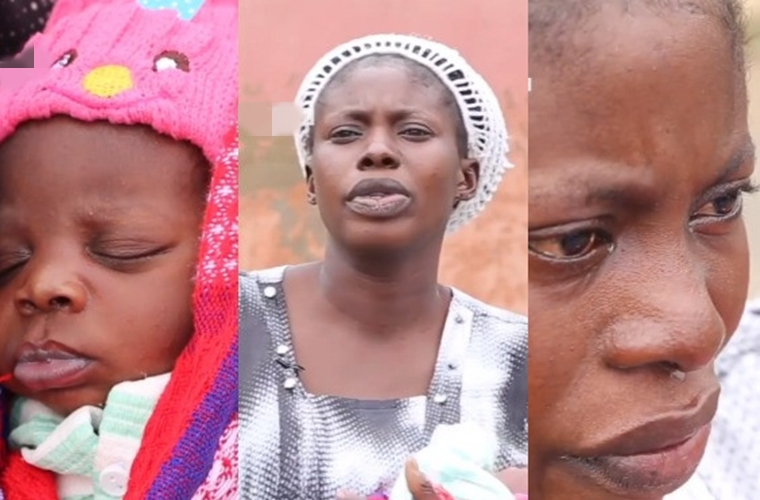 Video: Why I gave birth and dumped my baby – Nigerian mum of five opens up