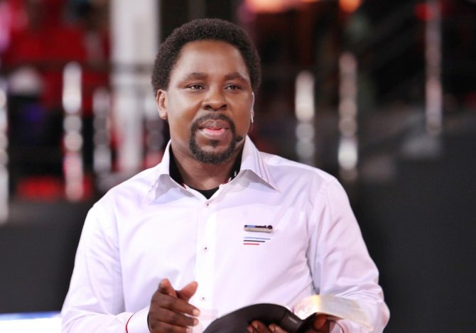 Prophet TB Joshua begs Federal Government to release coronavirus patients to him for prayers