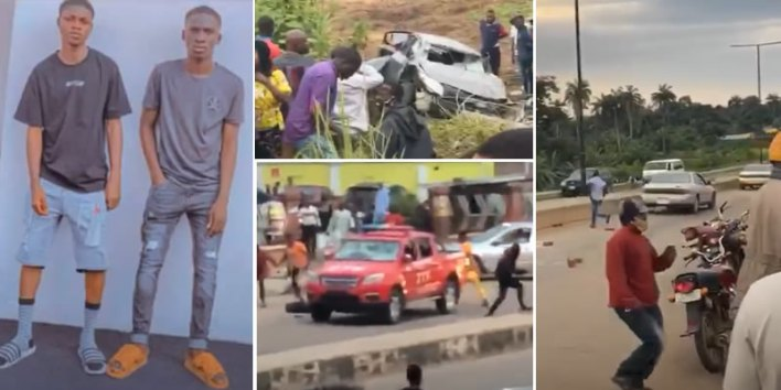 Updated: Photos, video of yahoo boys chased to death in Osogbo by Joint Task Force