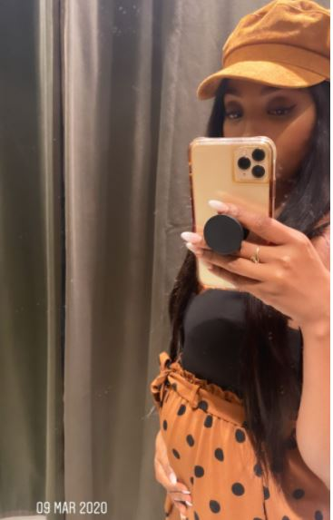"""Photos: Pearl Modiade shares her pregnancy journey: """"Not all that glitters is gold"""""""