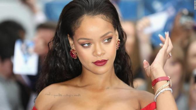Uproar as Rihanna is accused of disrespecting Islam during Savage X Fenty show