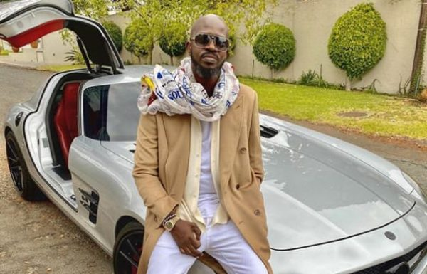 """Black Coffee inspires fans with the """"Dad vs Me"""" challenge"""