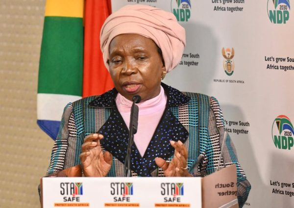 COVID-19: Dlamini-Zuma announce extension of national state of disaster by 30 days
