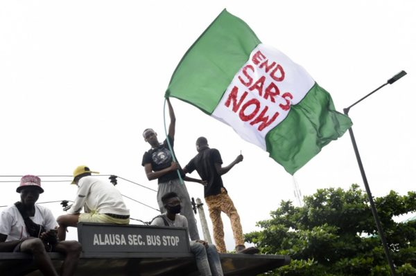 "#EndSARS: EFF calls on Nigerian govt to learn from ""foolish rulers who undermined the might of the people"""