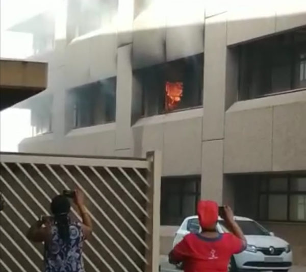 Fire outbreak at Durban hospital laboratory