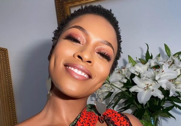 """Nomzamo Mbatha shares a throwback photo of a fearless kid as she joins the """"GirlUpChallenge"""""""