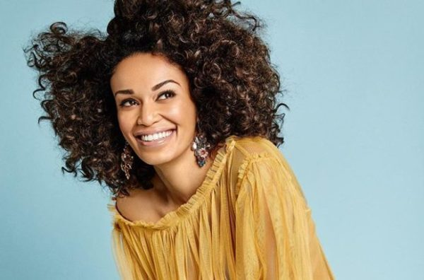 Pearl Thusi shares a painting of her done by a fan