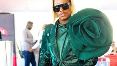 Somizi observed cleansing ceremony of his late mother with champagne – Photo
