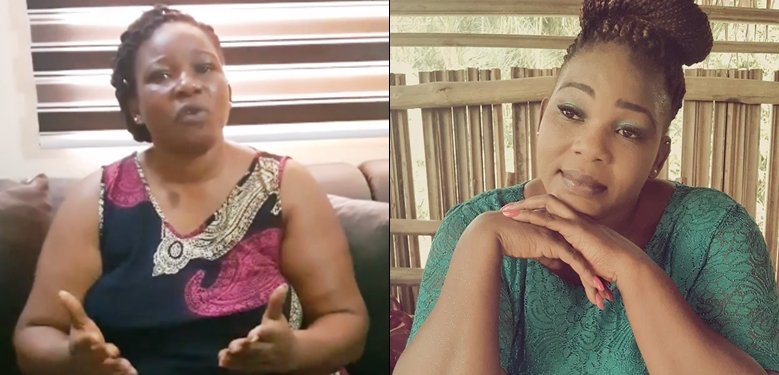 Actress Ada Ameh laments as she tackles FG over lack of power as Nigerians obey the sit-at-home order