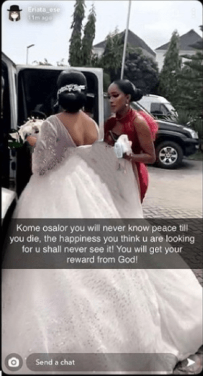 AIT Kome Osalor Threatens Lawsuit After She Was Accused Of Killing Lady Proposed To With 3 Rings