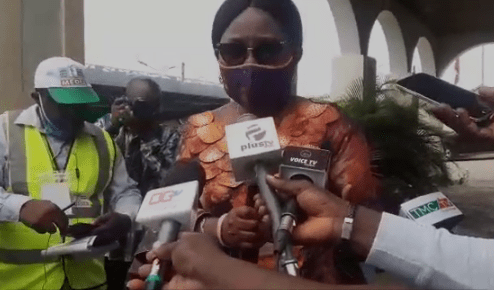 Akeredolu's wife, Betty speaks on alleged video of assault at polling centre