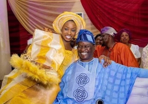 Filmmaker Mike Bamiloye's daughter, Darasimi holds traditional wedding with fiance Lawrence