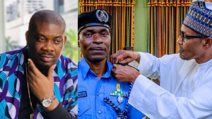 Barely 24 hours after SWAT was announced, Donjazzy and others protest #EndSWAT