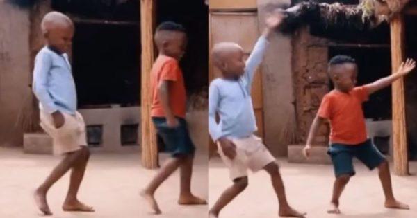"""2 little boys dancing to """"Jerusalema"""" goes viral – Watch"""