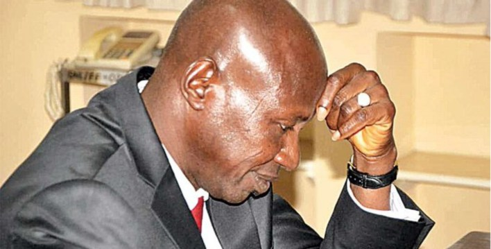 BREAKING: Buhari suspends Magu as EFCC acting chairman