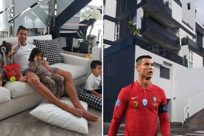 Cristiano Ronaldo's home broken into as thief 'gets in through garage door'