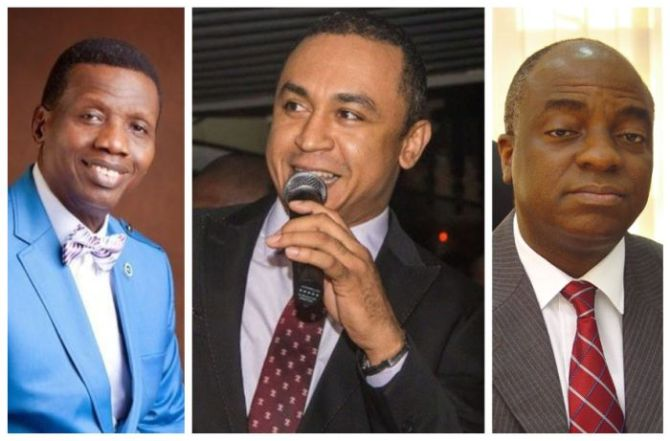 Daddy freeze slams Nigerian pastors for keeping mum about #EndSars.
