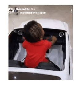 Davido and and his lover, Chioma celebrate their son, Ifeanyi as he marks first birthday