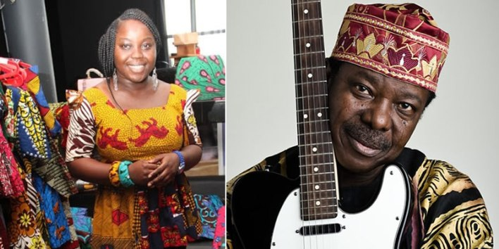 Dokpesi's Daughter, Homto Clarifies Relationship With King Sunny Ade