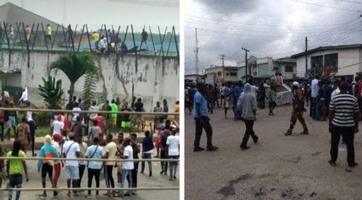 EndSARS: 1,993 inmates missing after Benin, Oko jailbreaks, says FG