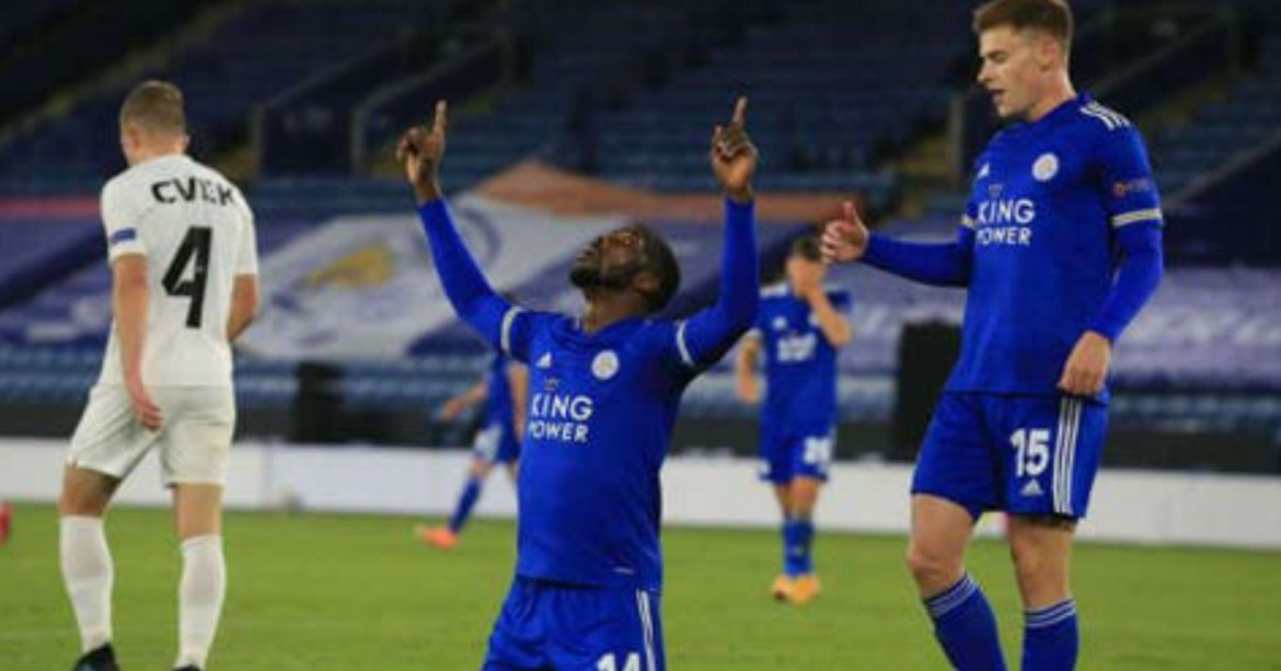 Iheanacho scores as Leicester begin Europa campaign with 3-0 over Zorya