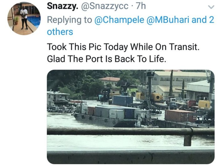 Jubilation as Onitsha sea port becomes functional after several years (Photos/Video)