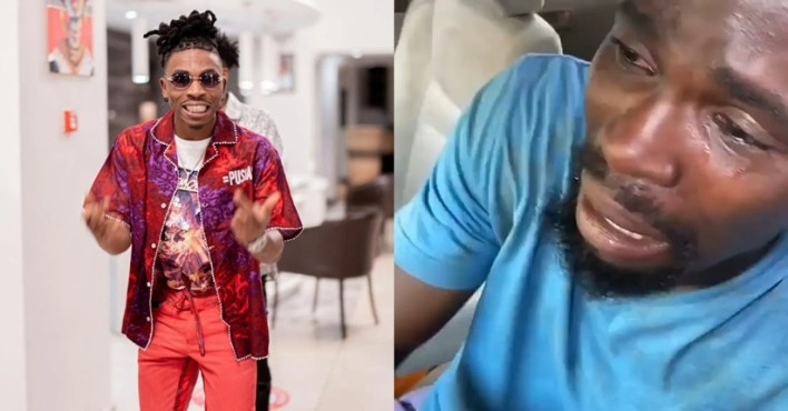 Mayorkun Offers To Help #EndSARs Protester Whose Car Was Destroyed In Abuja