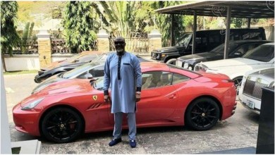 Nigerians go crazy after Dino Melaye splashes 460 million naira on a Lamborghini