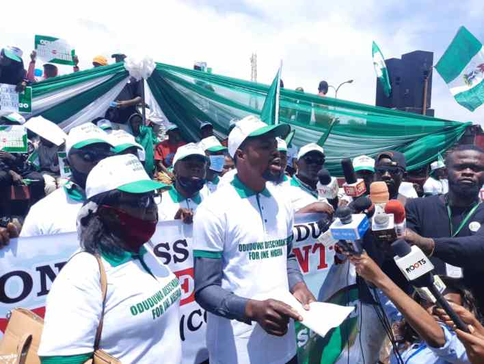 One NIGERIA: Yoruba Group, Oduduwa descendants troop out en mass in one million man march for unity