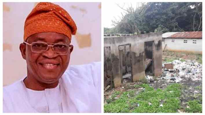 Osun State Governor, Oyetola and his group of 'wasters'