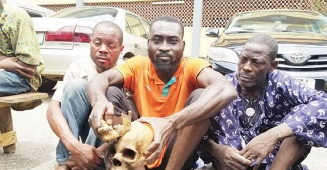 Police arraign three men for exhuming 10 corpses and beheading them for ritual in Ekiti