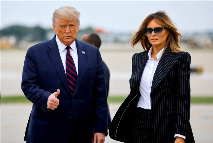 Trump, wife, Melania test positive for COVID-19, quarantined