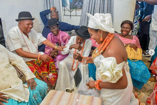 Rapper Erigga marries his woman, Morenike in Delta State
