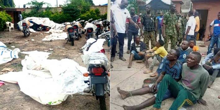 Seven Arrested For Invading Senator Folarin's Home Where Items Worth Over N200m Were Carted Away