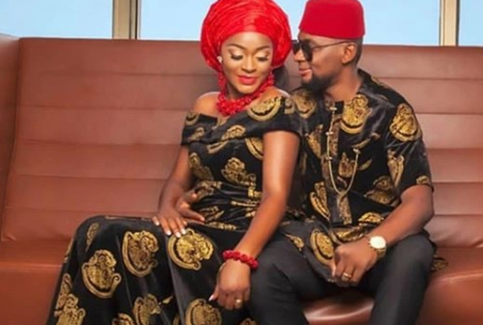 Chacha Eke warns brother to stay away from her marriage