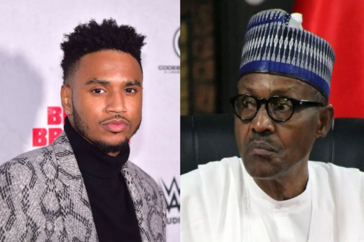 """""""The people saying you are full of shit"""" – American singer, Trey Songz drags Buhari over #EndSARS"""