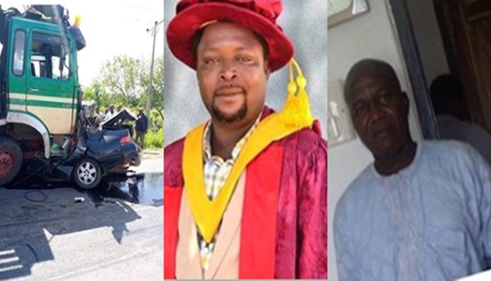 Truck fleeing the police, crushes two lecturers, a wife and their three children to death