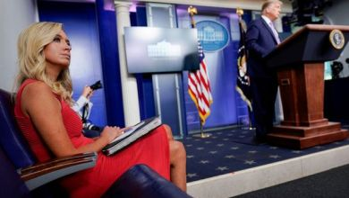 Trump's Press Secretary, Kayleigh McEnany Contracts COVID-19