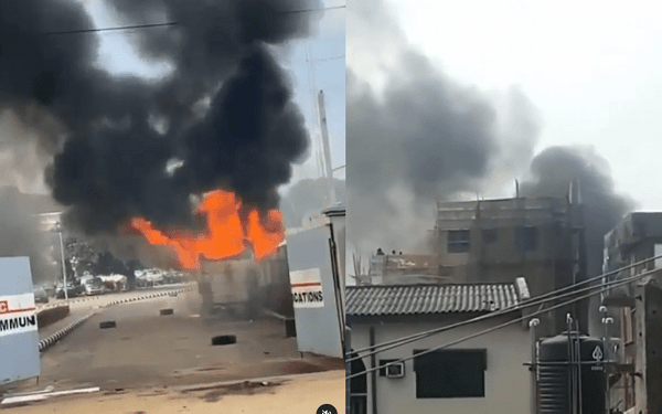 Witness recounts mob attack at TVC HQ, reveals why arsonists came to do