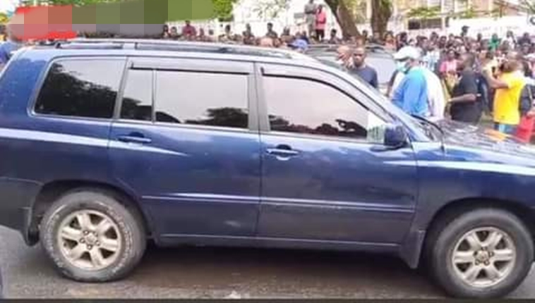 Unidentified man and woman found dead in a Toyota Hylander in Liberia
