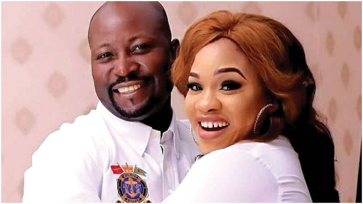 Video: Actress, Mosun Filani throws surprise 50th birthday celebration for husband