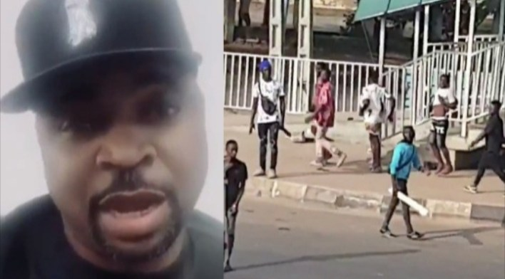 VIDEO: I did not send thugs to attack #ENDSARS protesters in Alausa, says MC Oluomo