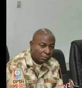 PHOTOS: See The Face Of The Army Commander, Ifo Omata Who Ordered Killing Of Protesters At Lekki Toll Gate