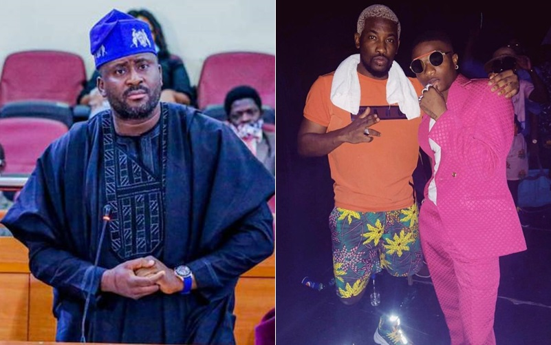 Wizkid Has Represented Surulere Constituency More Than You – OAP Dotun Throws Shade At Desmond Elliot