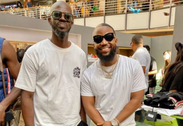 Fans go frenzy over Black Coffee and Cassper Nyovest's bromance