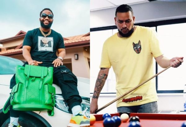 AKA and Cassper Nyovest fight over topping album charts