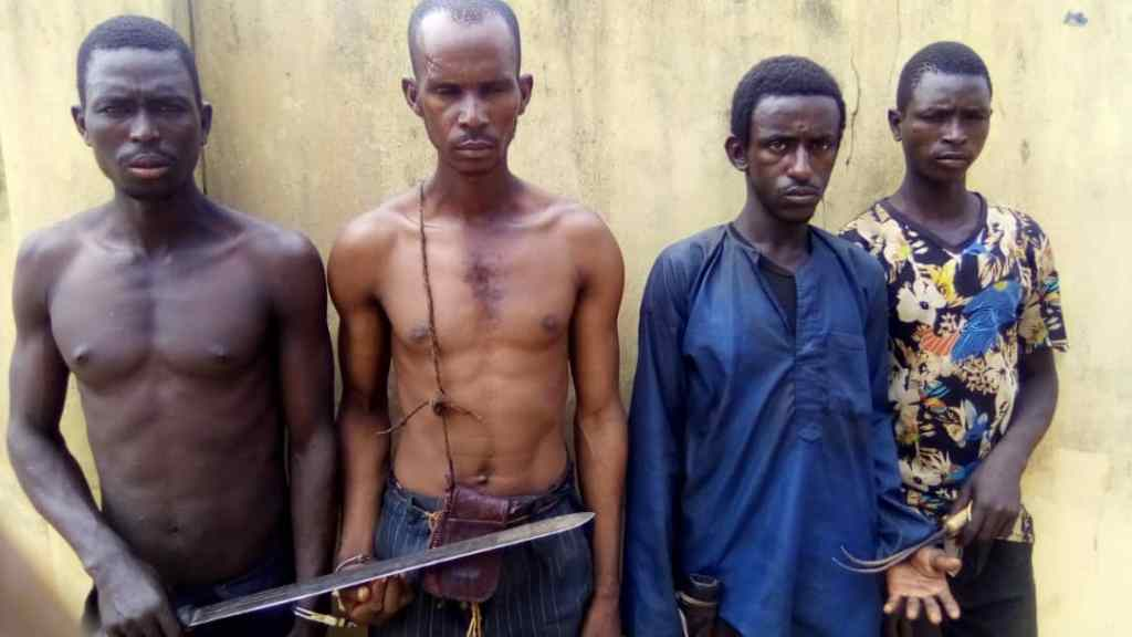 Police arrest five for robbing church, kidnapping member in Ogun